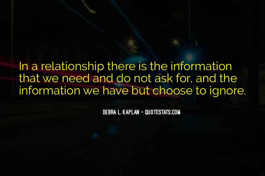 Debra L. Kaplan Quotes #35239