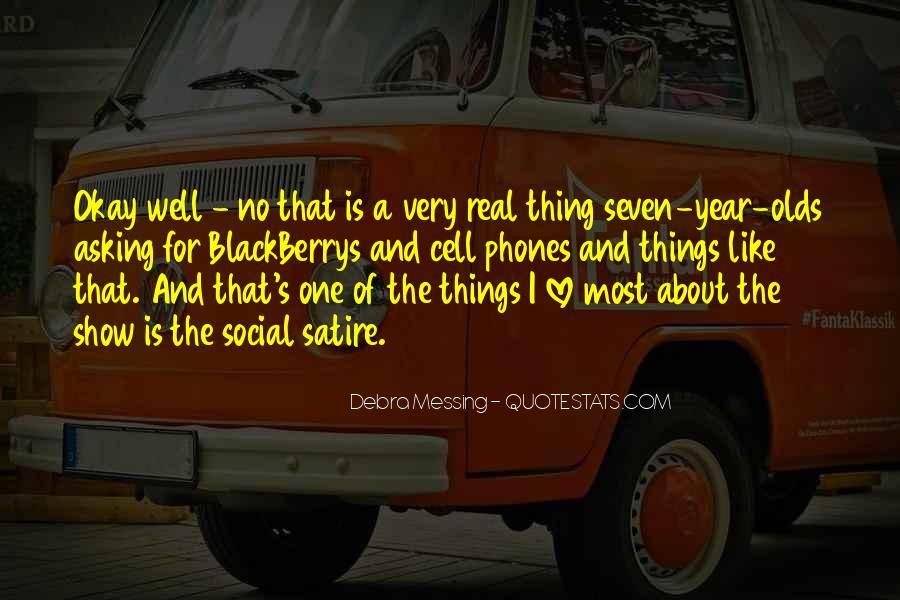 Debra Messing Quotes #357723