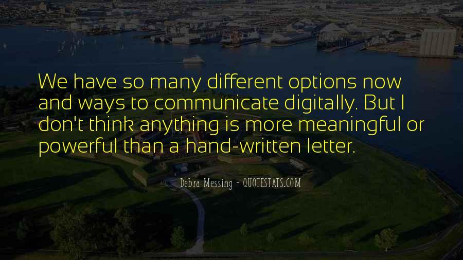 Debra Messing Quotes #567271