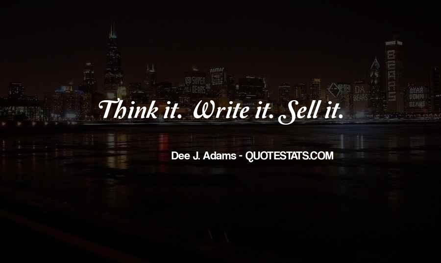 Dee J. Adams Quotes #1859903