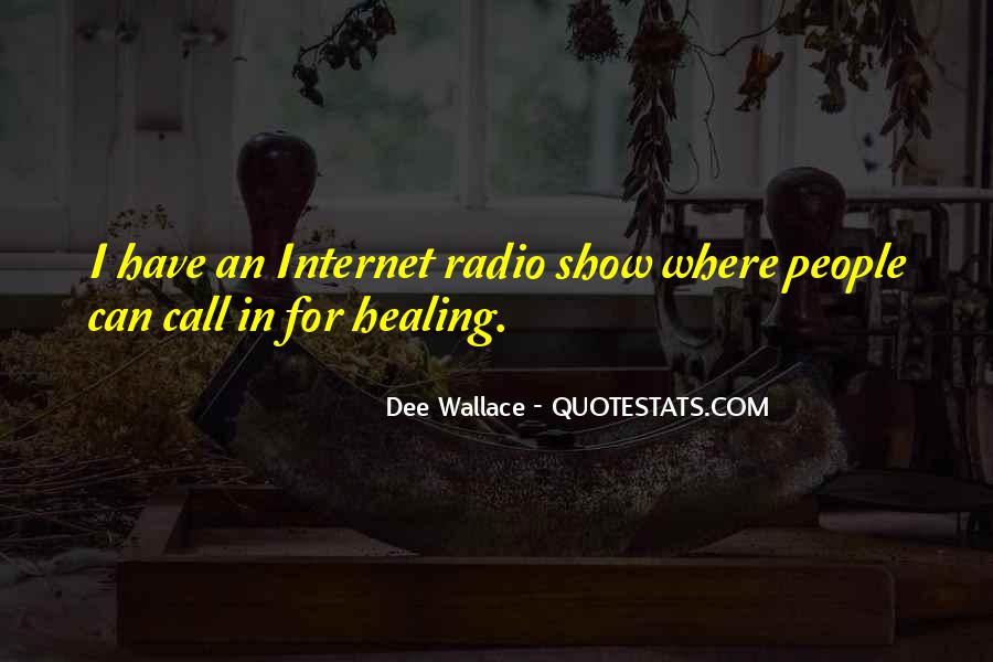 Dee Wallace Quotes #377150