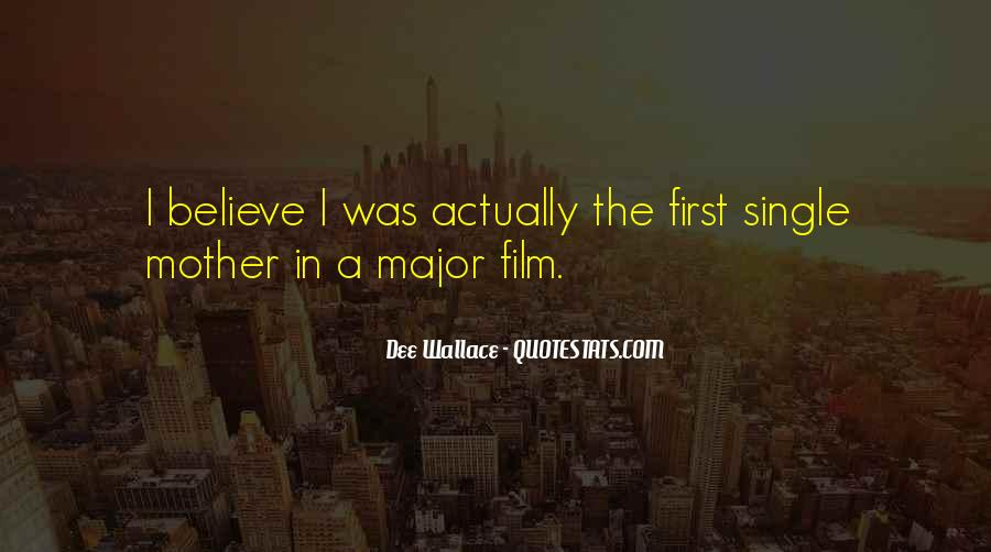 Dee Wallace Quotes #904652