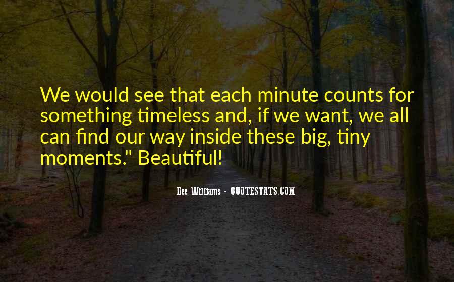 Dee Williams Quotes #341334