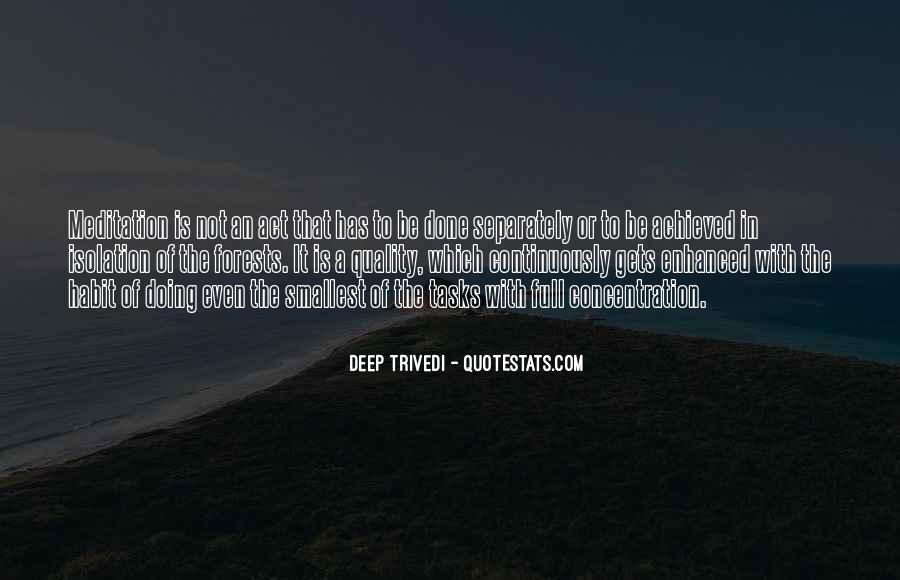 Deep Trivedi Quotes #1505311