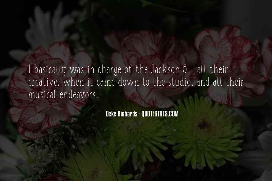Deke Richards Quotes #1216132