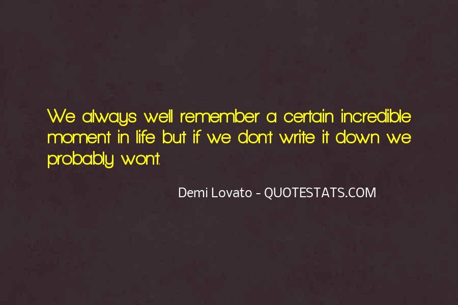 Demi Lovato Quotes #1625845