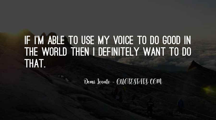 Demi Lovato Quotes #1789298