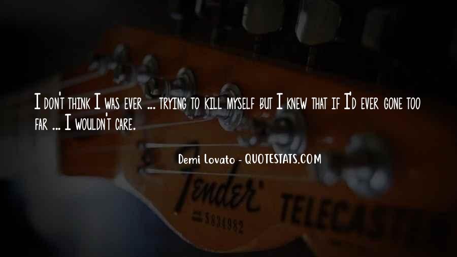 Demi Lovato Quotes #273880