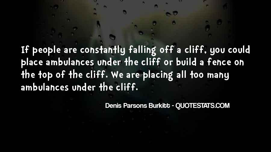 Denis Parsons Burkitt Quotes #762935