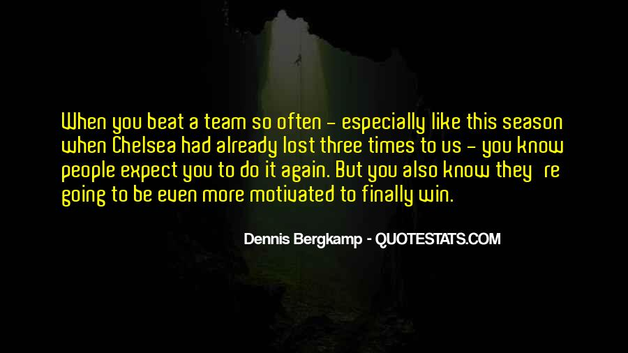 Dennis Bergkamp Quotes #891403