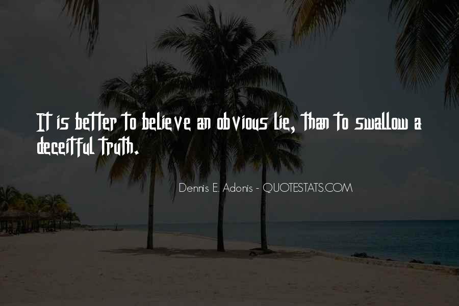 Dennis E. Adonis Quotes #510537