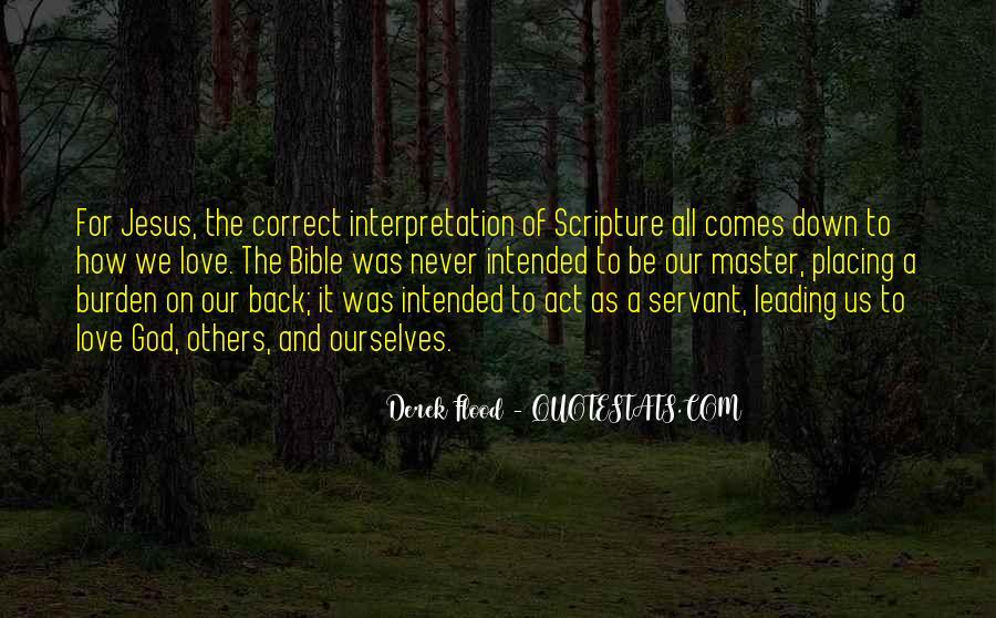 Derek Flood Quotes #824779