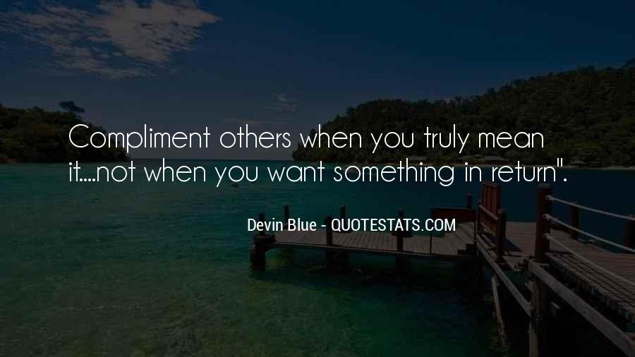 Devin Blue Quotes #316353