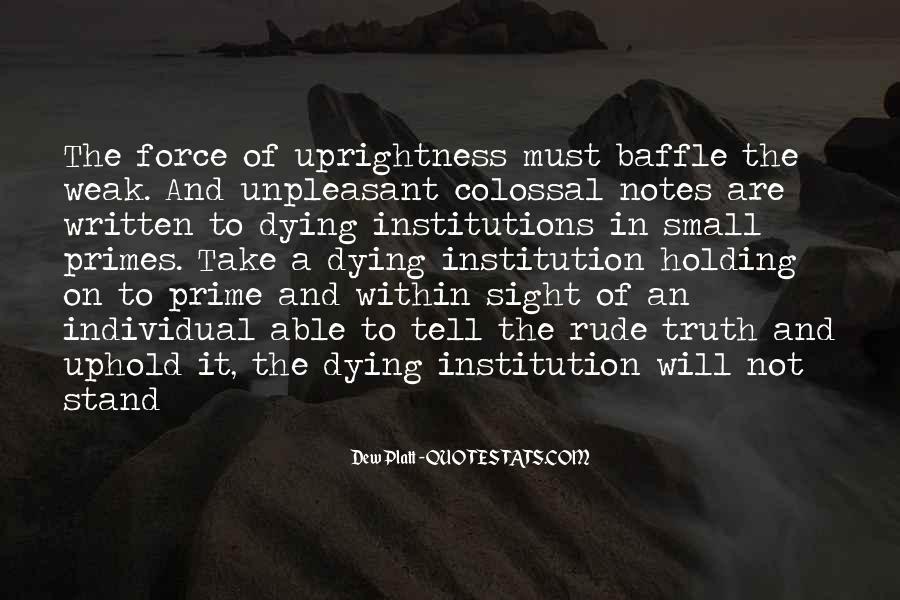Dew Platt Quotes #1454917