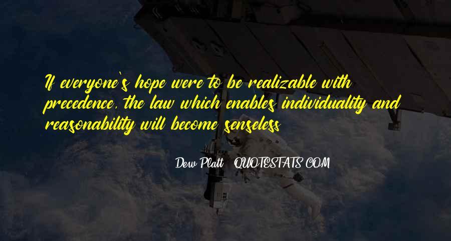 Dew Platt Quotes #353188