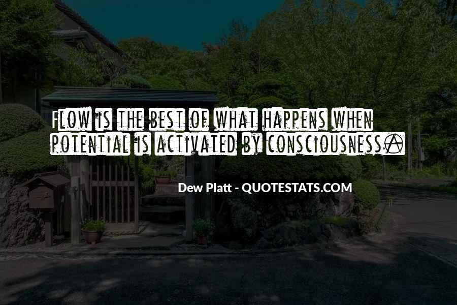 Dew Platt Quotes #860937