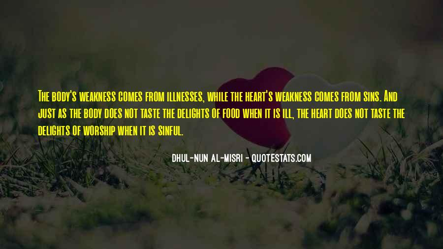 Dhul-Nun Al-Misri Quotes #1867403