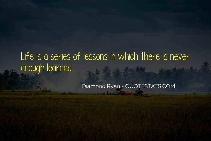 Diamond Ryan Quotes #1482289