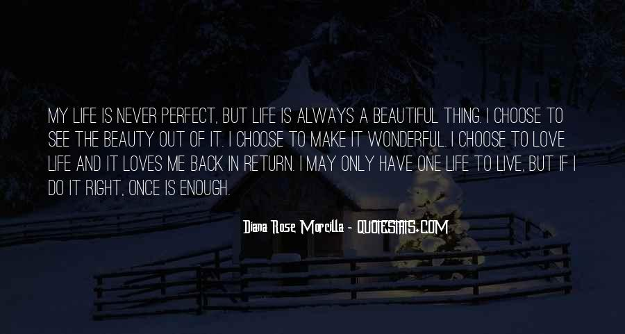Diana Rose Morcilla Quotes #37755