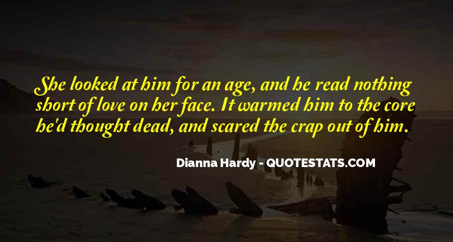 Dianna Hardy Quotes #1307587