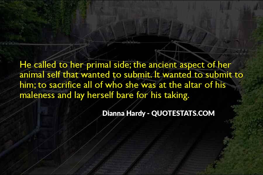 Dianna Hardy Quotes #1521743