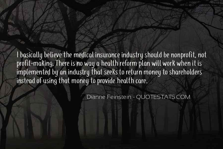 Dianne Feinstein Quotes #497803