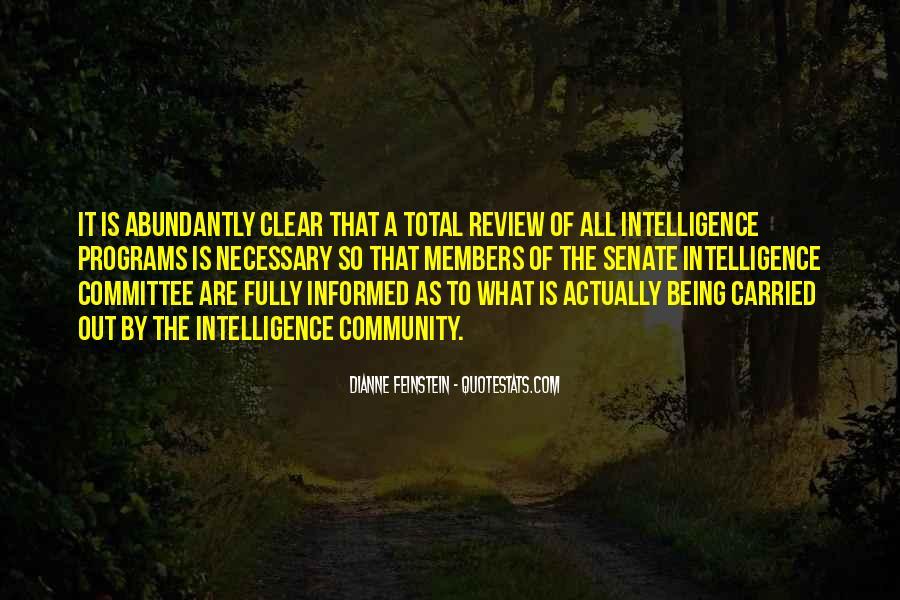 Dianne Feinstein Quotes #499226