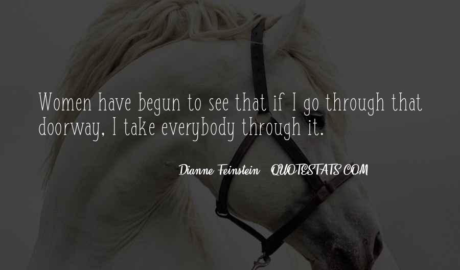 Dianne Feinstein Quotes #578049