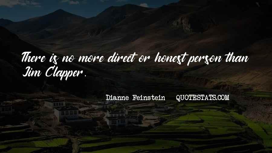 Dianne Feinstein Quotes #657595