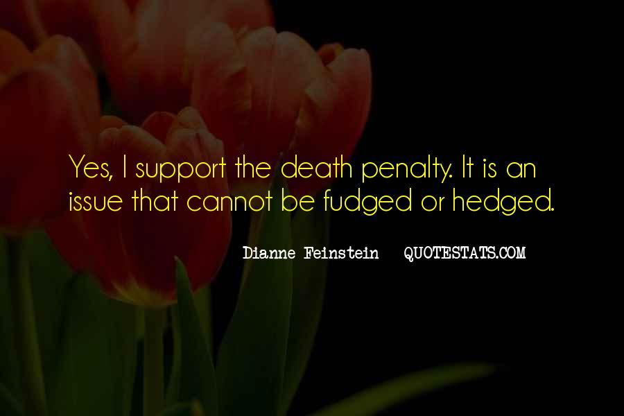 Dianne Feinstein Quotes #880052
