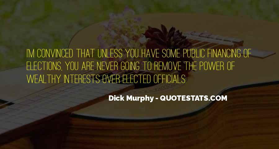 Dick Murphy Quotes #310619