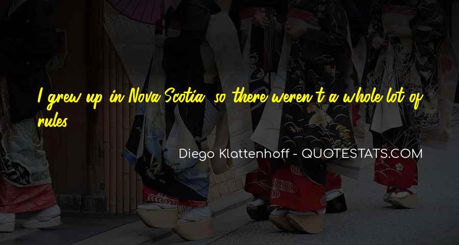 Diego Klattenhoff Quotes #5882