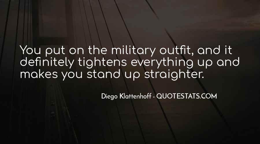 Diego Klattenhoff Quotes #597893