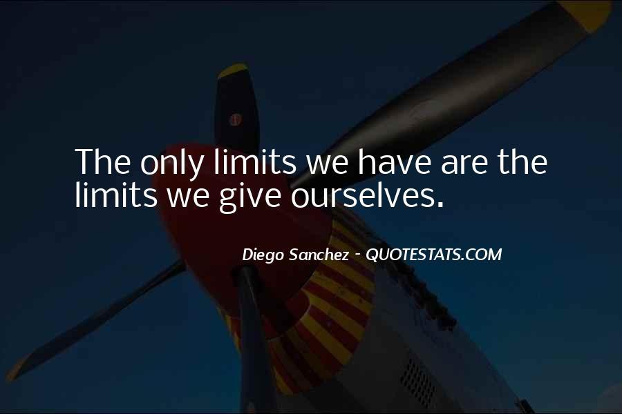 Diego Sanchez Quotes #1118232