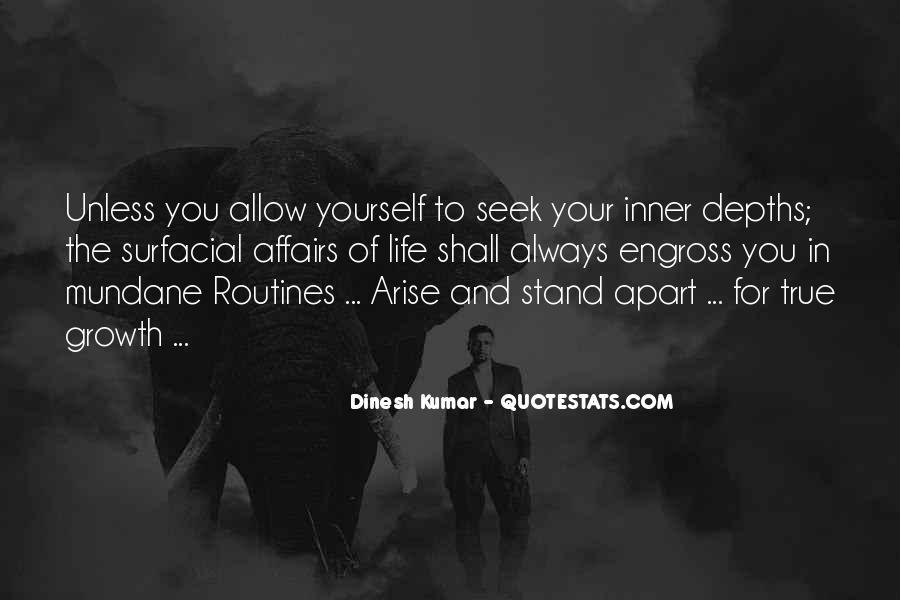 Dinesh Kumar Quotes #821541