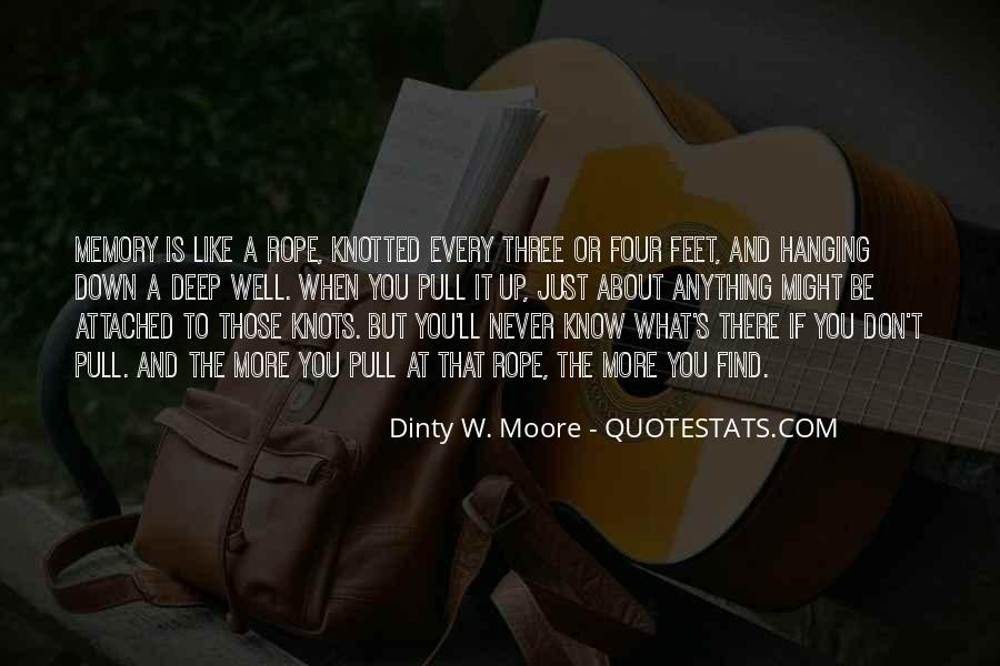 Dinty W. Moore Quotes #20419