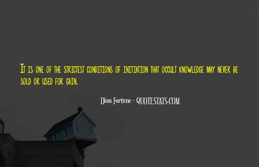 Dion Fortune Quotes #839211