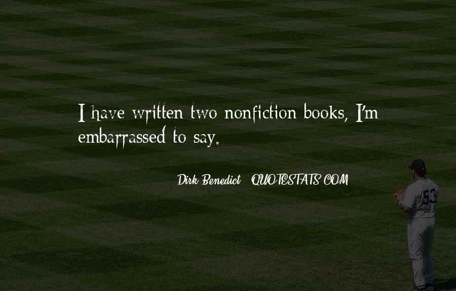 Dirk Benedict Quotes #1137228