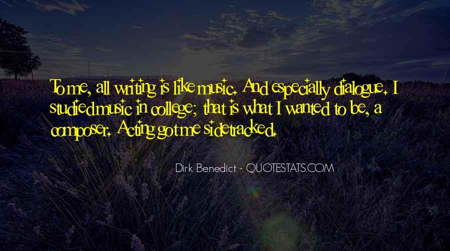 Dirk Benedict Quotes #1246121