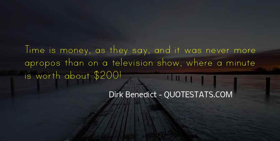 Dirk Benedict Quotes #12865