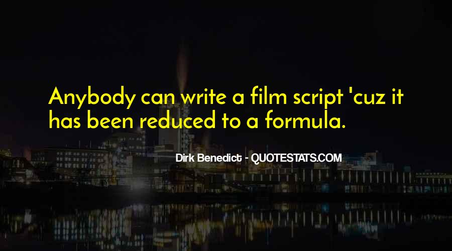 Dirk Benedict Quotes #254905