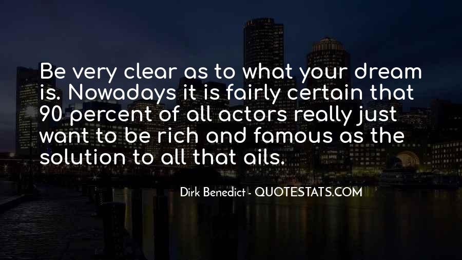 Dirk Benedict Quotes #673944