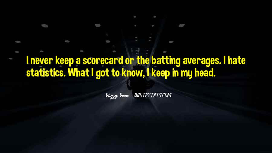 Dizzy Dean Quotes #1495334
