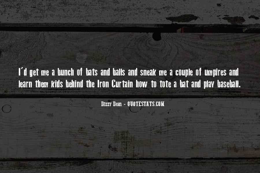 Dizzy Dean Quotes #430173