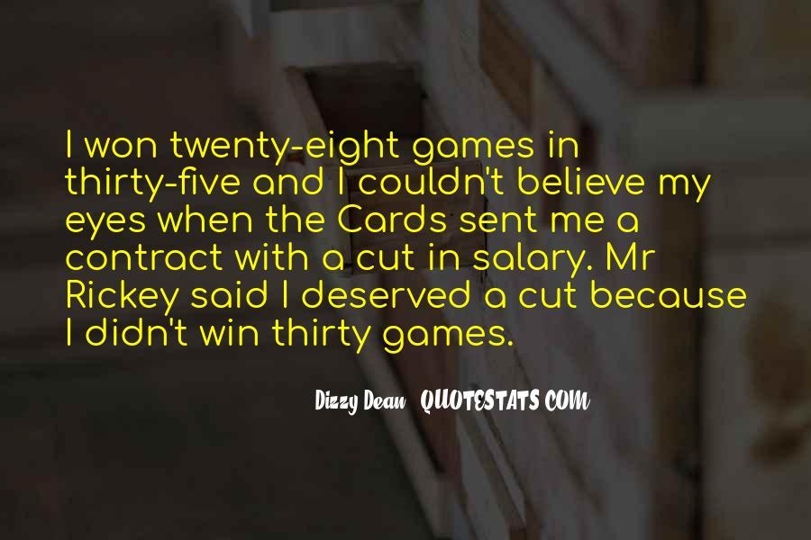 Dizzy Dean Quotes #687398