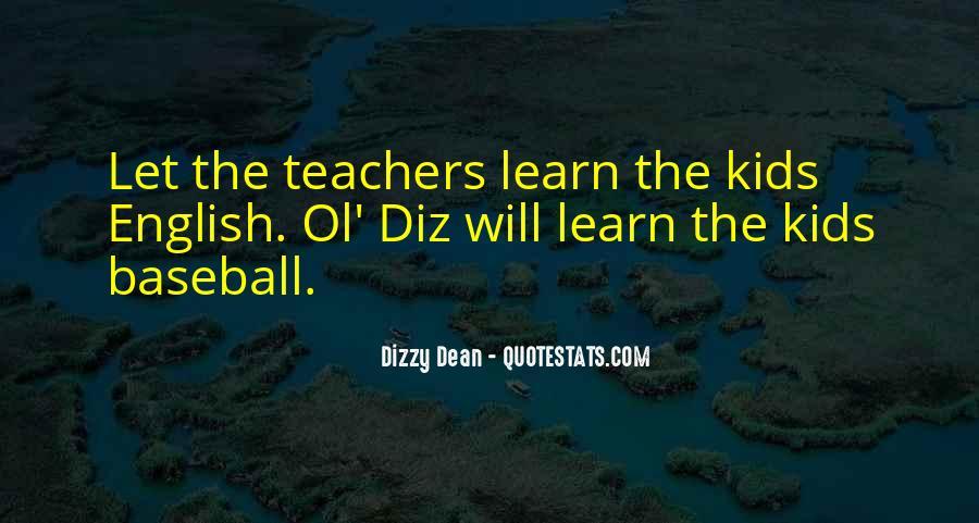 Dizzy Dean Quotes #836954