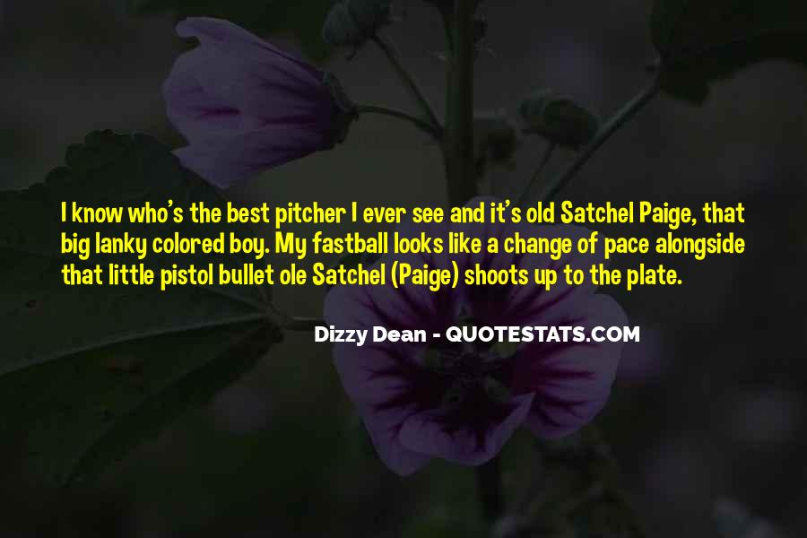 Dizzy Dean Quotes #857066