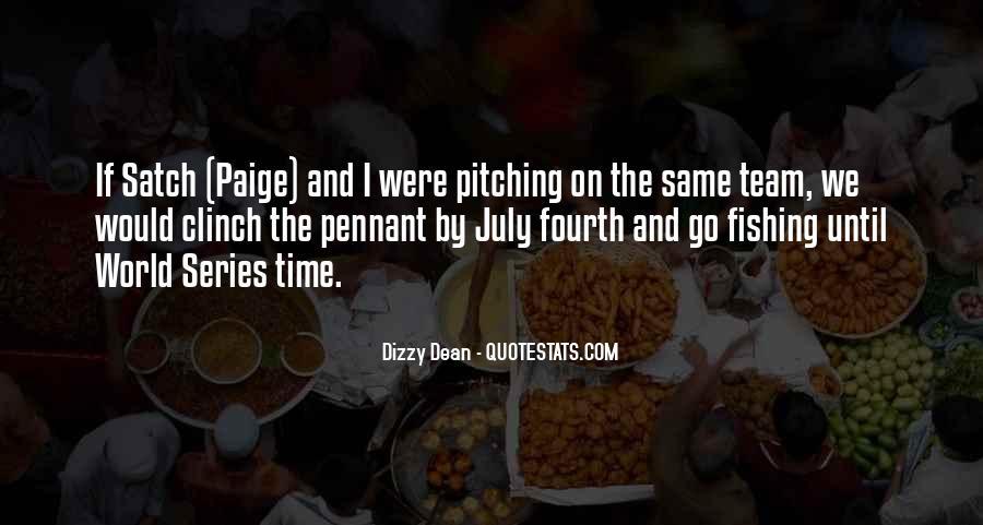 Dizzy Dean Quotes #91839