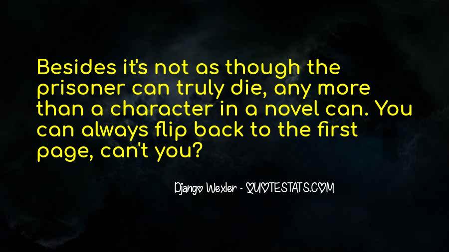 Django Wexler Quotes #296618