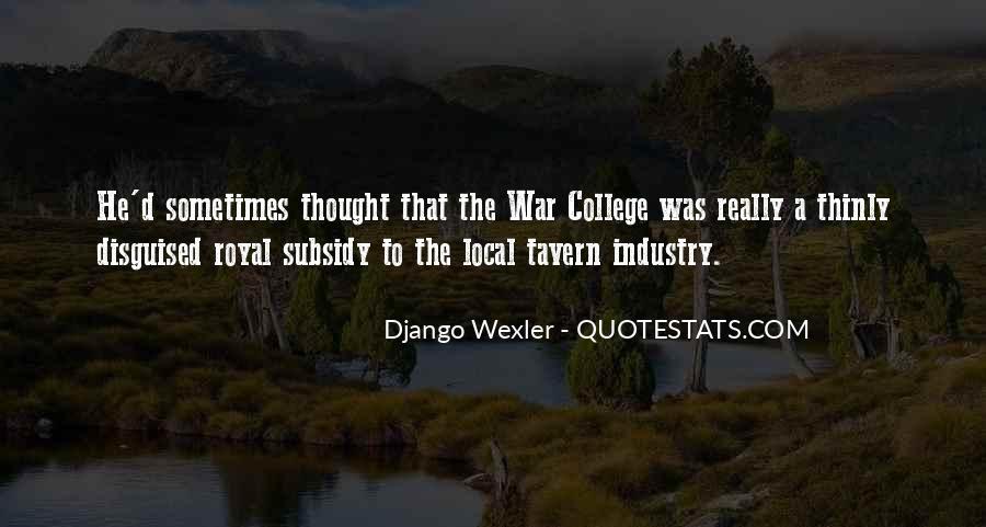Django Wexler Quotes #400929